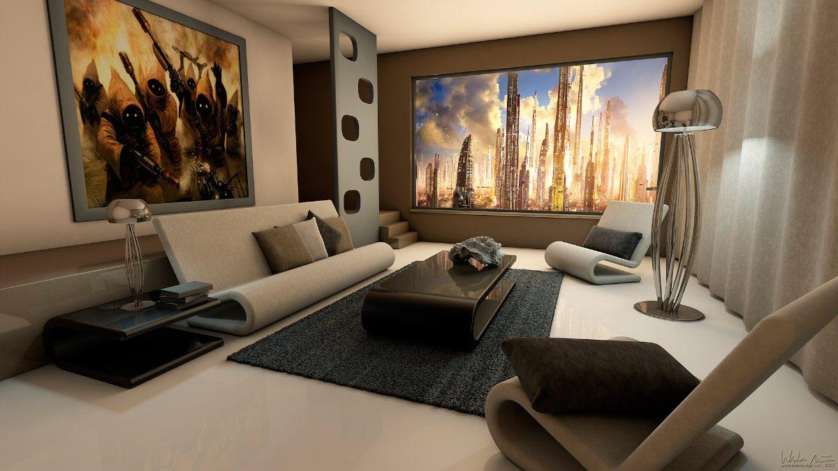 accesorios de salones modernos ideas para decorar - Como Decorar Un Salon Moderno