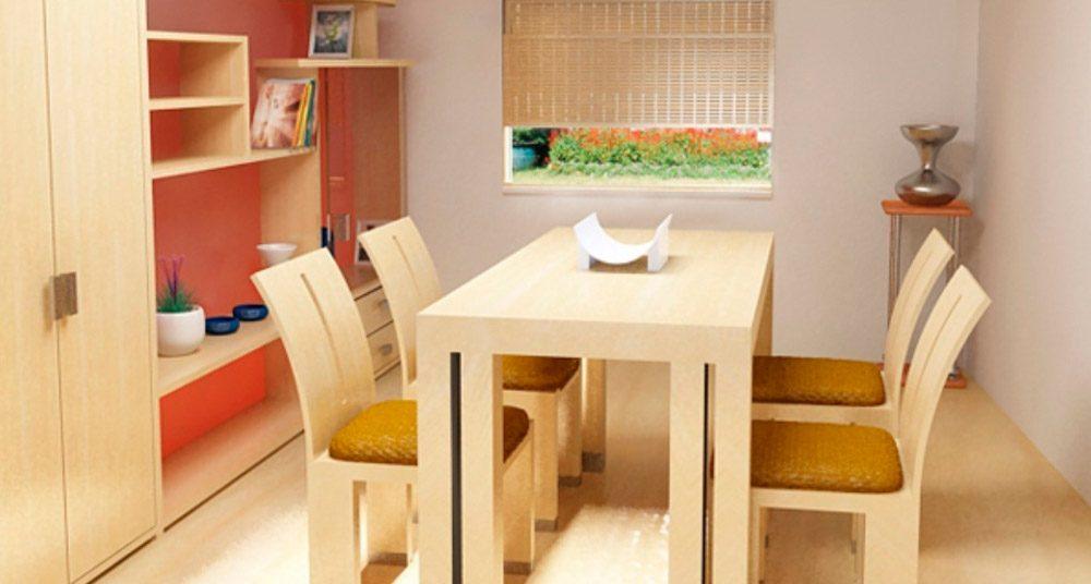 Claves para crear un sal n comedor peque o for Muebles para comedor pequeno