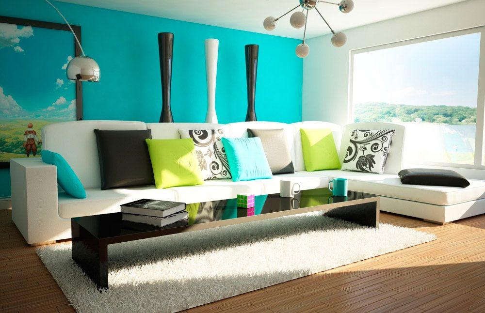 Como combinar colores en el salón :: Imágenes y fotos