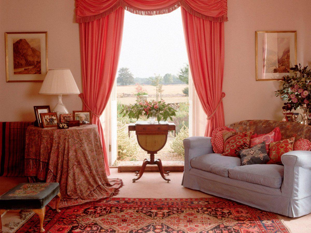 cortinas modernas para saln