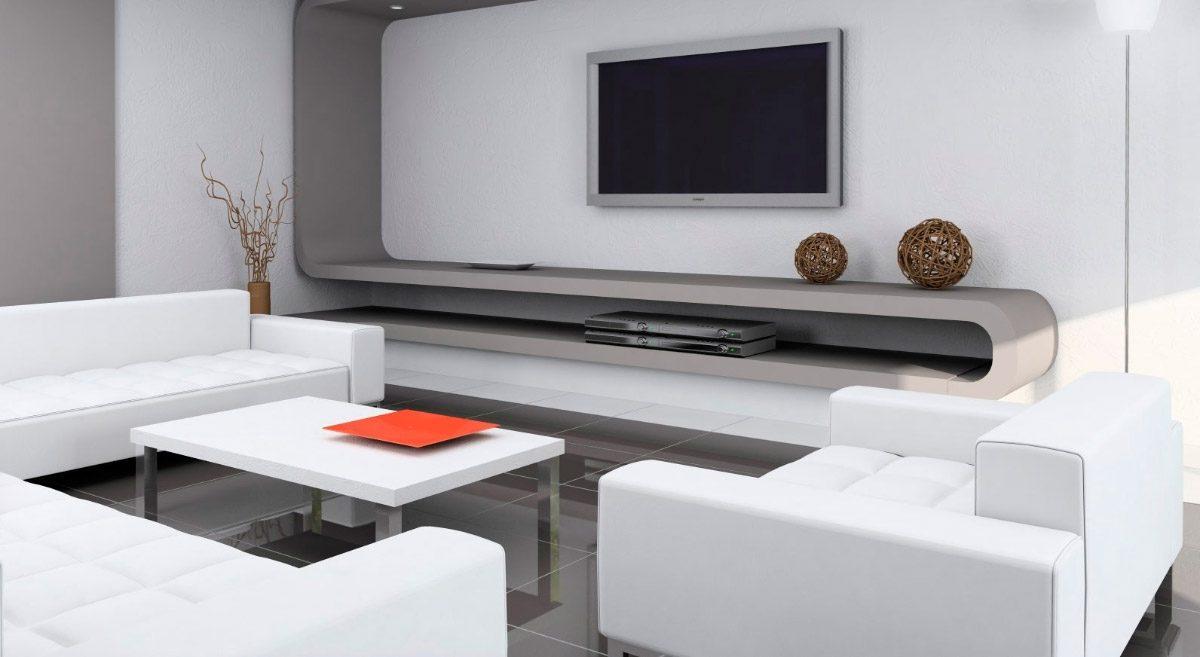 Fotos De Muebles Para El Salon Imagenes Y Fotos - Mueble-salon-minimalista