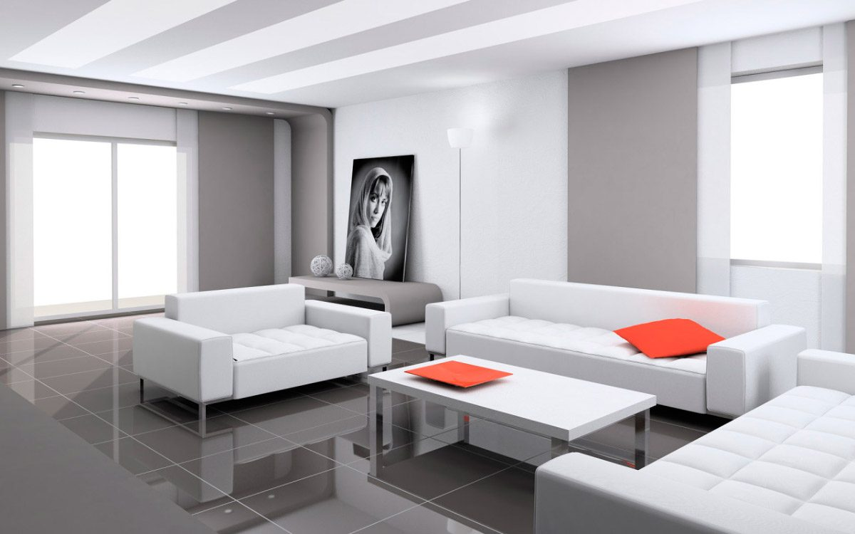 Galer a de im genes decoraci n de salones modernos - Decoracion salones modernos fotos ...