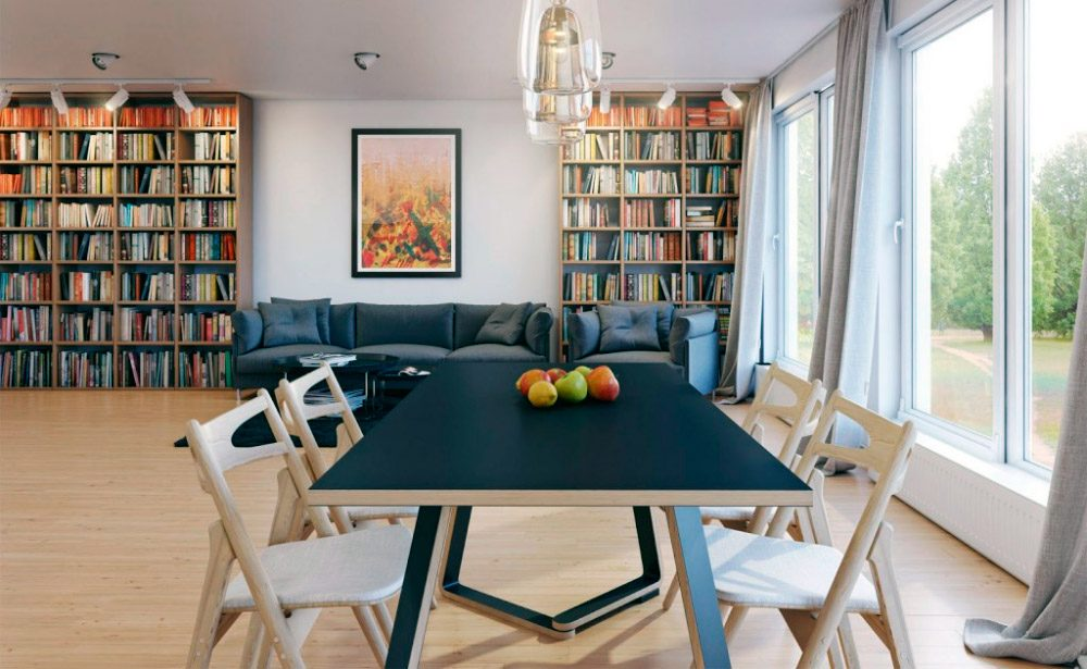 Ideas para decorar el sal n comedor im genes y fotos - Ideas salon comedor ...