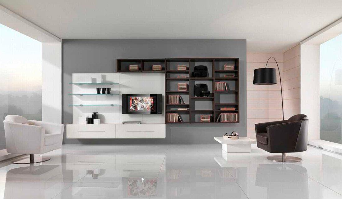 Decoraci n de salones minimalistas - Colores para salones modernos ...