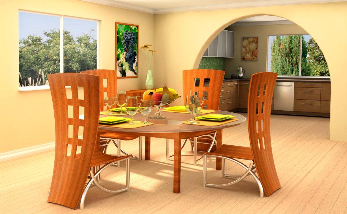 Mesa y sillas de comedor im genes y fotos for Mesas de comedor coloniales