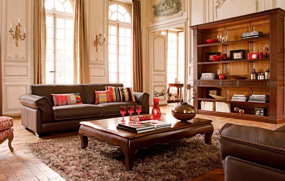 Muebles de salones clásicos