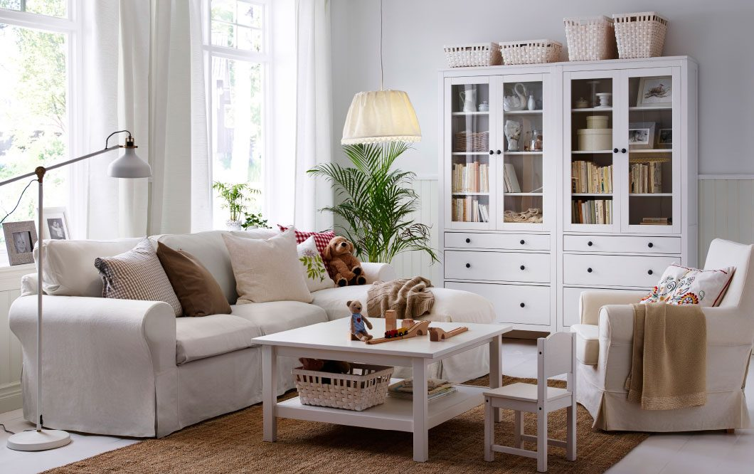 Salones cl sicos ikea for Ideas salones ikea