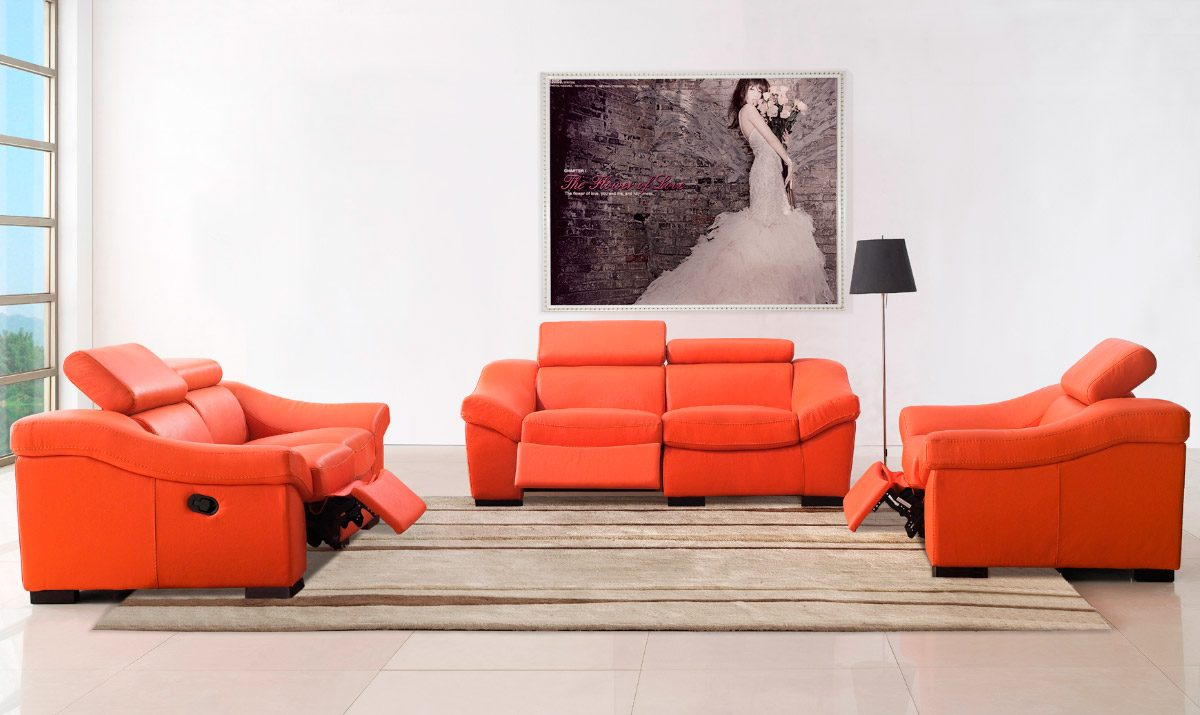 Muebles modernos para el sal n for Muebles sofas modernos