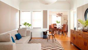Cómo decorar salones cuadrados