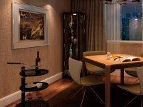 Decoración de un salón comedor pequeño :: Imágenes y fotos