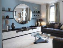 Ideas para salones con espejos for Salones mezcla clasico moderno